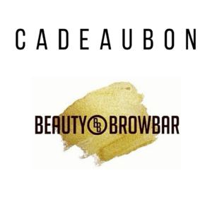 Beauty & Browbar haarlem cadeaubon wenkbrauwen